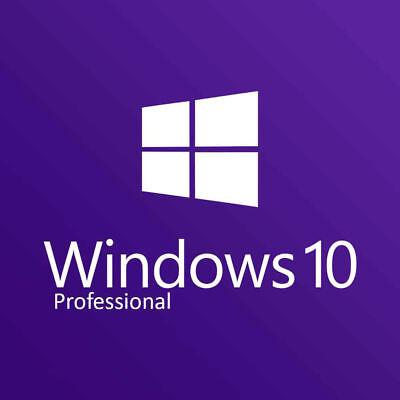 Windows 10 Professional Pro 32   64 Bit Activation Key