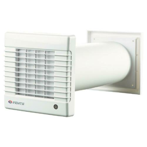 VENTS Garage Ventilation Airflow 6 in Duct Fan Exhaust Fume 158 CFM Wall-Through