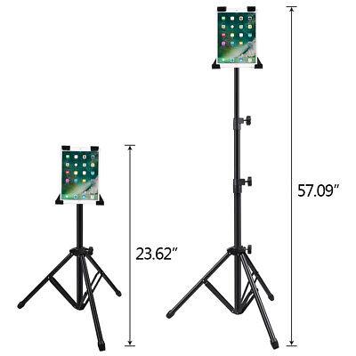 """Adjustable Tripod Stand Holder Bracket For iPad 1 2 3 4 7""""-13"""" Tablet Mount 360°"""