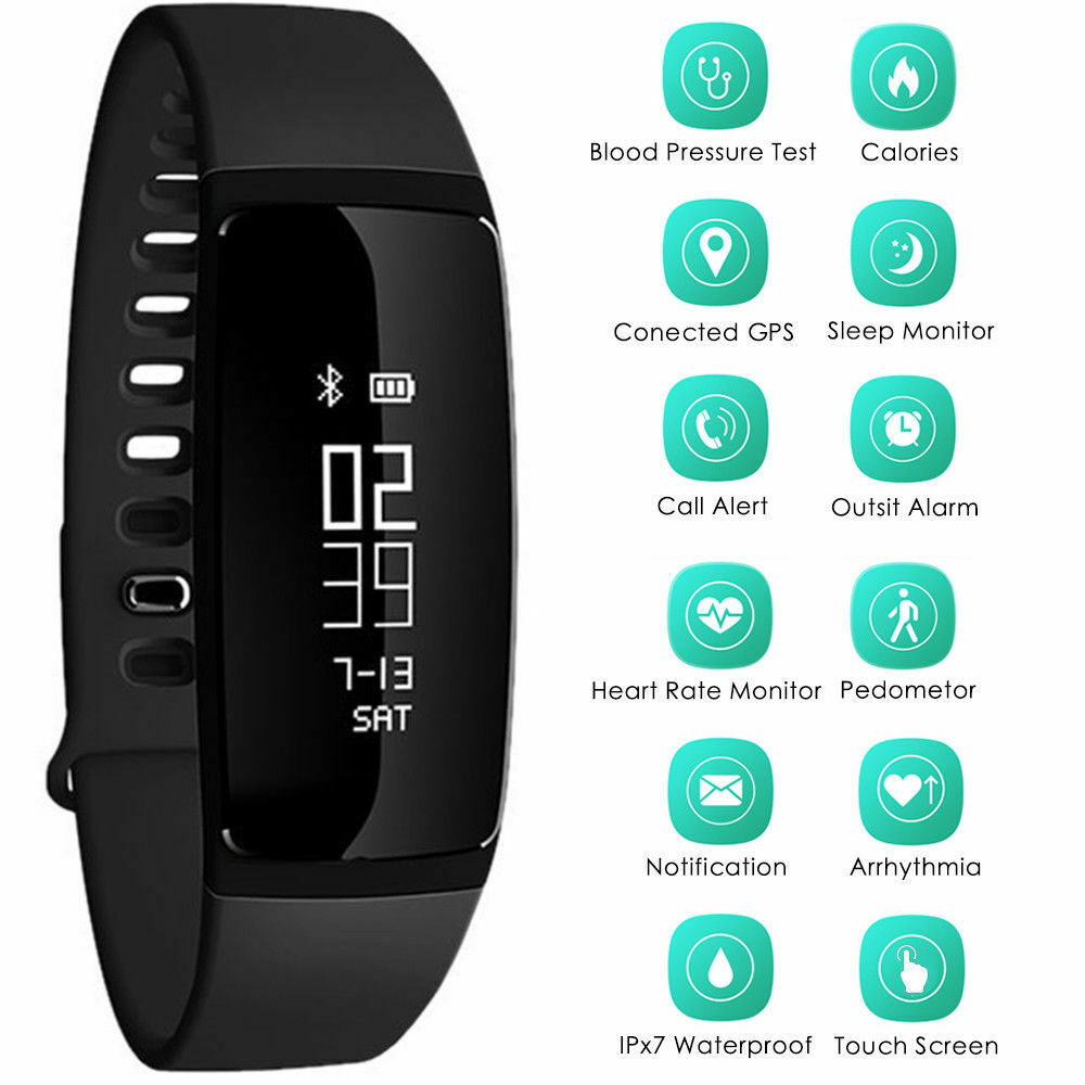 V07s Smart Wrist Band Pedometer Sport Fitness Activity Track