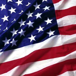 3'x 5' FT American Flag U.S.A U.S. United States Stripes Stars Brass Grommets