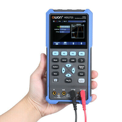 Electronic Oscilloscope 2ch 70mhz Bandwidth 20000 Counts For Automotive Hds272s
