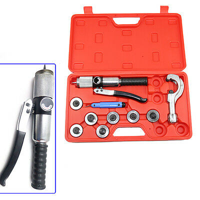 Hydraulic Tube Expander 7 Lever Tubing Expander Tool Swaging Kit Hvac Tools Kit