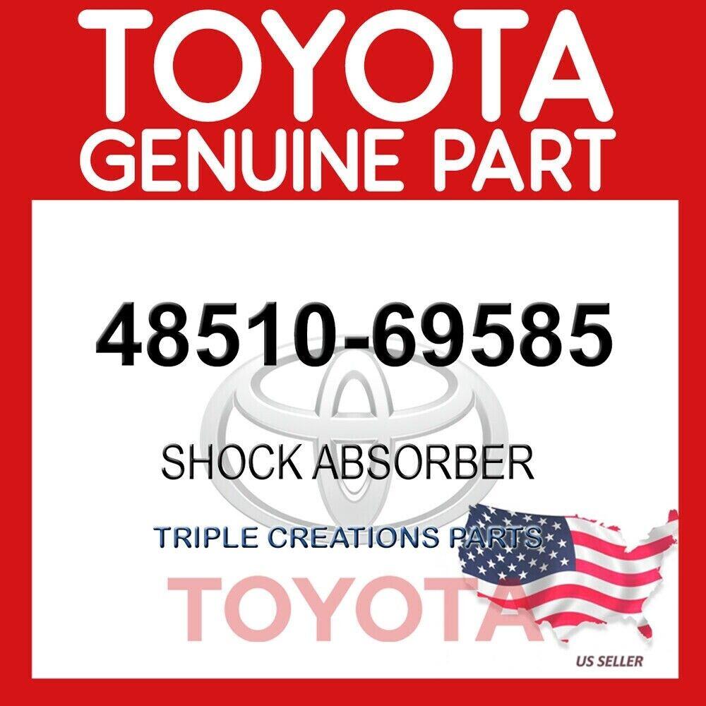 4851069127 GENUINE Toyota Lexus ABSORBER ASSY SHOCK FRONT RH//LH 48510-69127 OEM