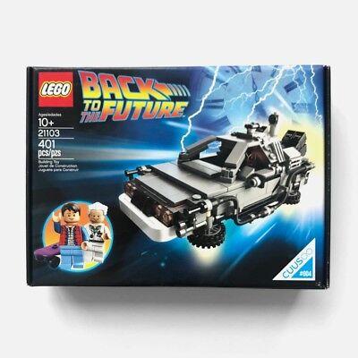 Rare Lego SEALED Back To The Future DeLorean Motor Company 21103 DMC Skateboard - Back To The Future Skateboard