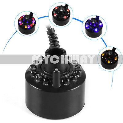 Комнатные фонтаны 12-LED Ultrasonic Mist Maker