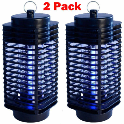 2Pack Electric Mosquito Fly Bug Insect Zapper Killer LED Tra