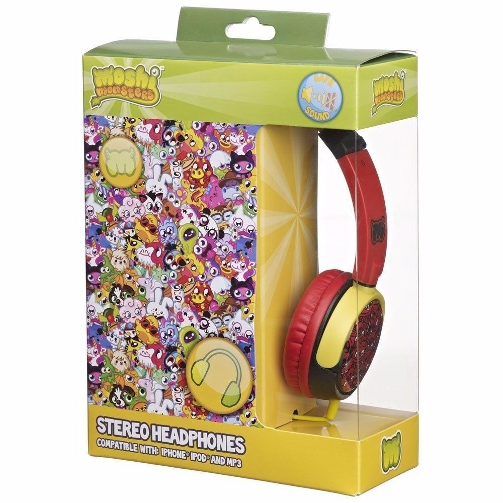moshi monster stereo headphone in a box