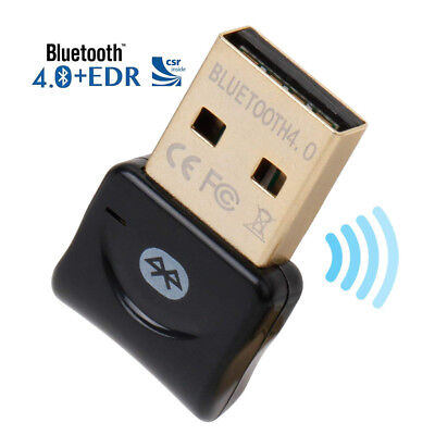 Bluetooth CSR 4.0 Dongle Audio Empfänger USB Adapter für Windows XP/7/8/10 PC DE