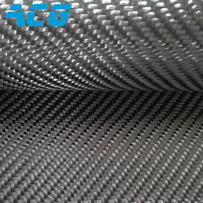 6k Carbon Fiber Cloth Fabric 320gsm Twill Weave 100real Carbon Cloth