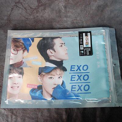"K-POP EXO XOXO  Slogan PHOTO Towel KPOP Star EXO  (39.3"" x 7.8"")"