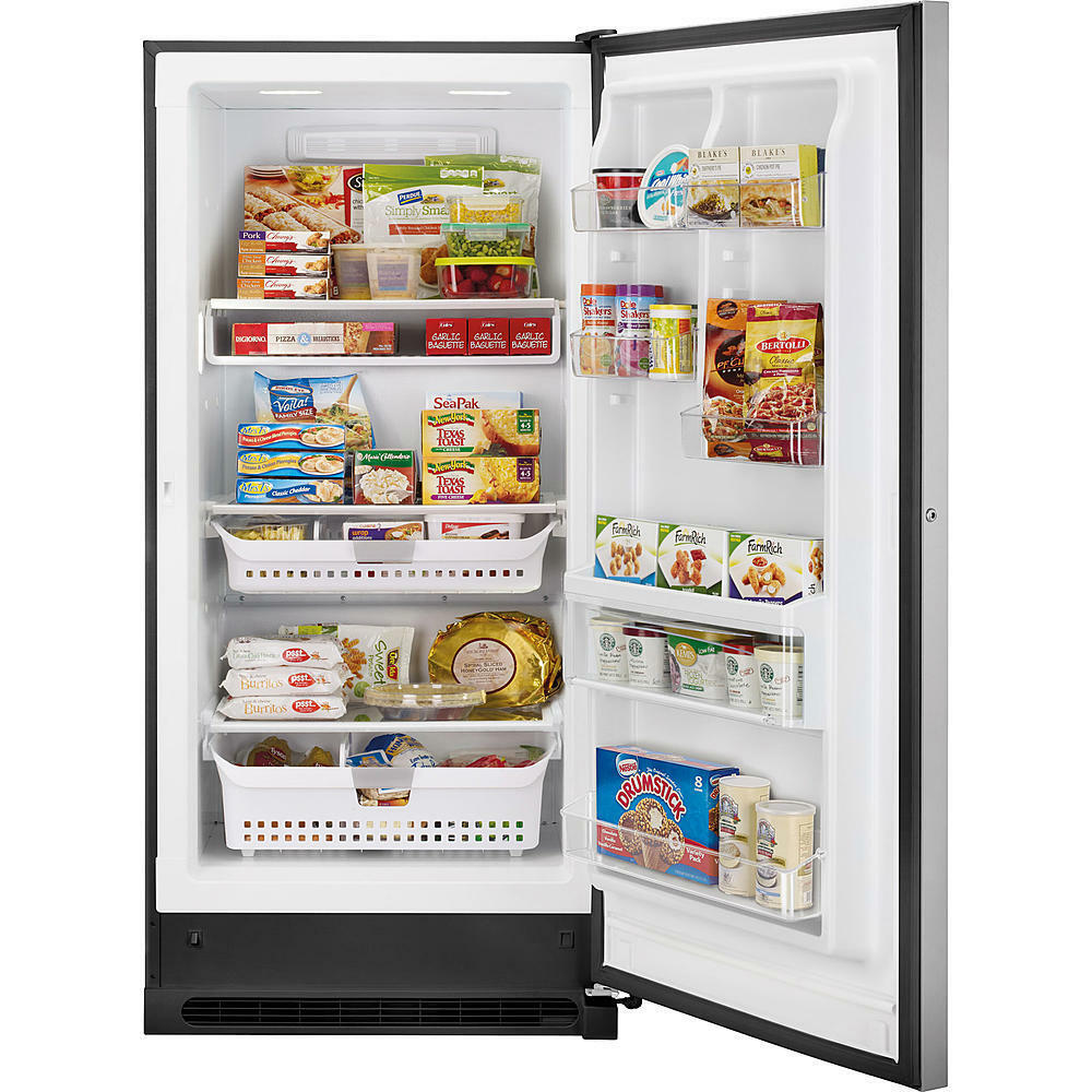 20.5 Cubic Foot Kenmore Elite Upright Freezer, Stainless wit