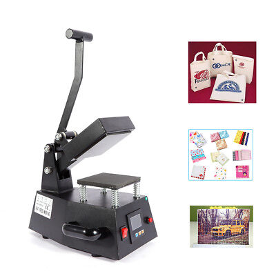Heat Press Machine 600w Digital Sublimation Small Size Logo Printing Machine Us