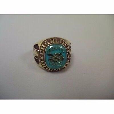 Balfour Nba Charlotte Hornets Rings Size 11 Gold    Bd 40