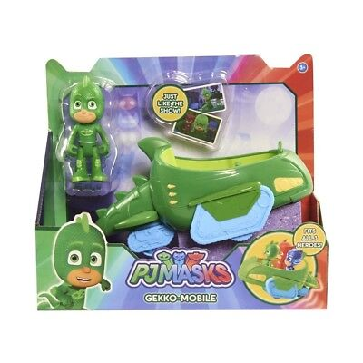 Pj Masks Toy Gekko Mobile Vehicle Green Just Play