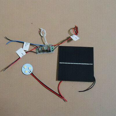 SAVE SOLAR 3.6V Square Solar Panel Auto Light DIY Kit with 3 LED lights