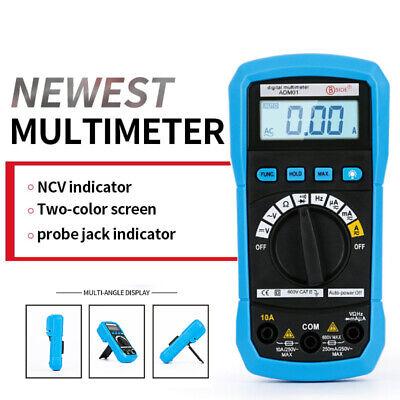 Autorange Lcd Digital Multimeter Ac Dc Voltmeter Ammeter Ohmmeter Volt Tester Wf