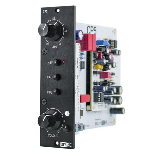 CP5 Colour Microphone Preamplifier by DIYRE | 500-Series Audio Module