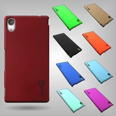 Aqua Rub - For Sony Xperia M4 Aqua Hard Snap-On Case Slim Rubberized Matte Thin Phone Cover