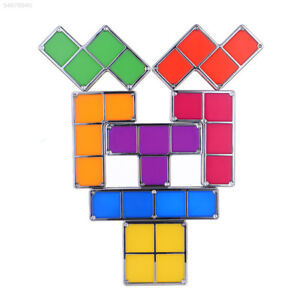 9AF3 Tetris Block Night Lamp DIY Puzzle Energy Saving LED Light