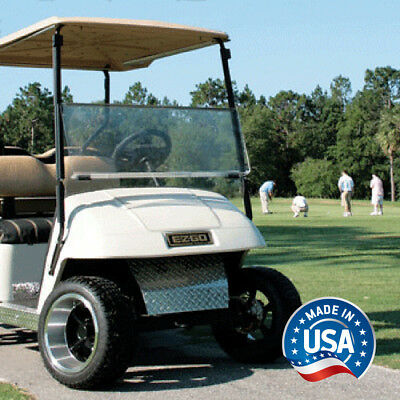 EZGO TXT (94.5-13) Clear Impact Modified Fold Down Golf Cart Windshield