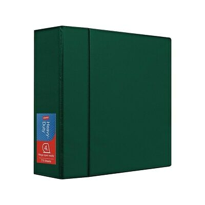 4 Staples Heavy-duty Binder With D-rings Green 976023