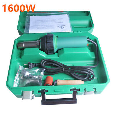 1600w Affordable Easy Grip Hand Held Plastic Hot Air Welding Gun