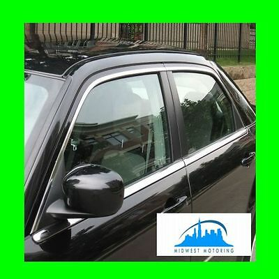 2005-2010 CHRYSLER 300 300C PRECUT CHROME UPPER WINDOW TRIM MOLDINGS 5YR WRNTY
