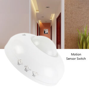 Ceiling motion sensor ebay surface mount pir ceiling occupancy motion sensor detector light switch 360 aloadofball Gallery