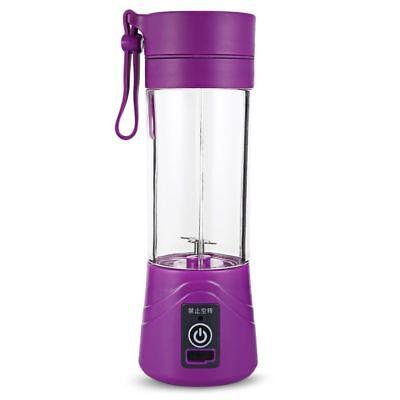 400ml Mini Blender Juicer Estrattore di Succo Frullatore Portatile Bottiglia US