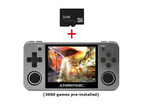 NEW,Anbernic RG350M Retro Handheld Video Game Console Game Player w/32GB SD Card