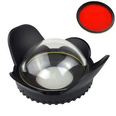Meikon 67mm Weitwinkel Fisheye Objektiv Dome Port Für Kamera Gehäuse RX100 A6000