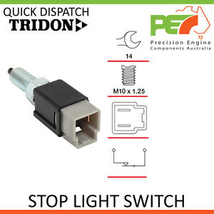 Genuine-TRIDON-Stop-Light-Switch-For-Nissan-Patrol-Diesel-MQ-incl-Turbo-GQ