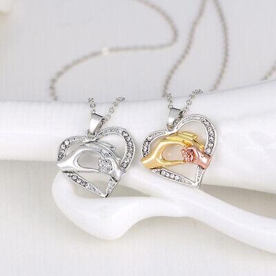 rtstag Mutter Liebe Schmuck Halskette  Anhänger Halsketten (Geburtstag Halsketten)