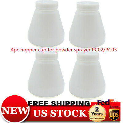 Durable Bottles Hopper Cup For Powder Coating System Sprayer Paint Pc02pc03 Us