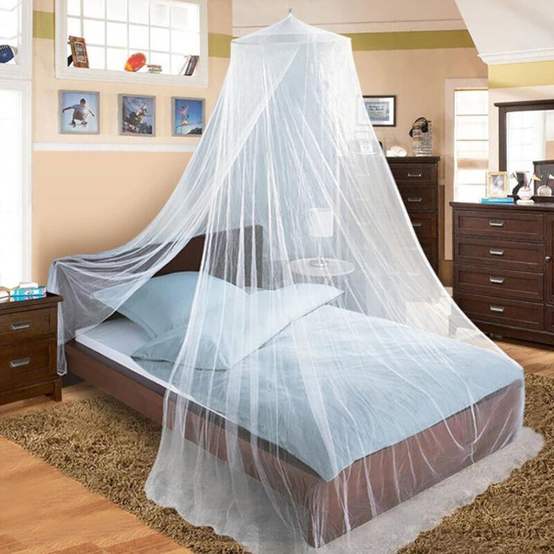 Betthimmel Moskitonetz Mückennetz Fliegengitter Insektenschutz Doppelbett Netz