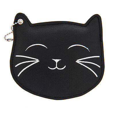 Katy Perry ID Holder Black Cat Prism Collection Black Faux Leather NWT