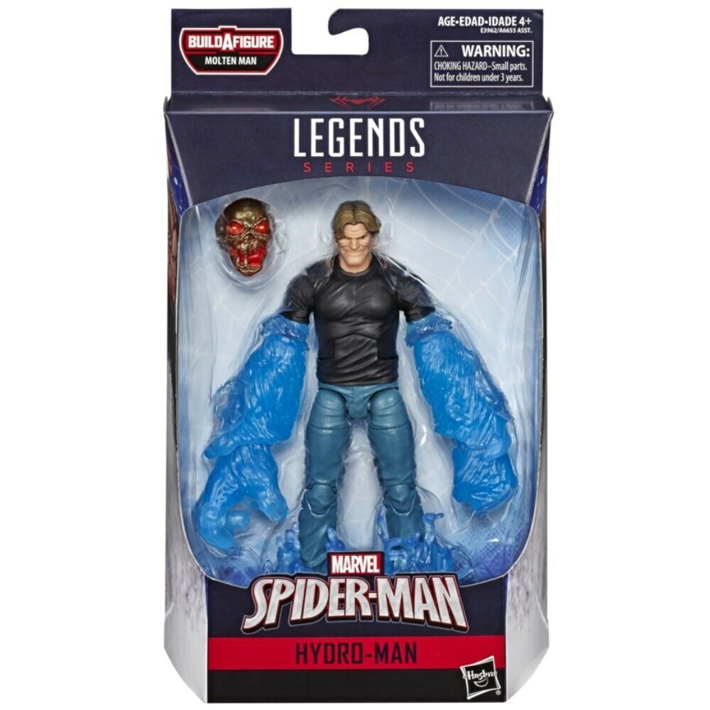 IN STOCK Marvel Legends Spider-man FAR FROM HOME HYDROMAN *NO Molten Man BAF