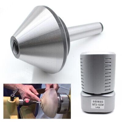 Mt3 100 Mm 4 Revolving Lathe Live Center Bull Nose Capacity 900lbs Pipe Tube