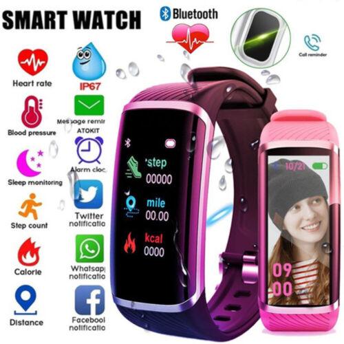 US Smart Band Watch Bracelet Wristband Fitness Tracker Blood Pressure Heart Rate
