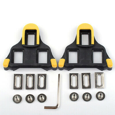 Genuine Shimano SPD-SL SM-SH11 Road Cleat Replacement Cleats fixed 6° Yellow NIB
