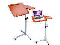 Adjustable Portable Laptop Table Stand Home Computer Desk For Sofa or Bed