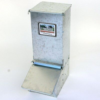 Brower 11h Single Door Supplement Hog Feeder - Heavy Duty - Hogs Wont Destroy