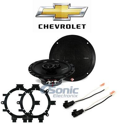 Chevy Silverado 1999-2006 Factory Speaker Upgrade R165X3, 82-3002, 72-4568