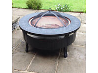 Brand New Round 3-In-1 MultiFunctional Firepit, Ice Bucket And BBQ