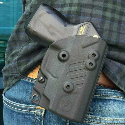 Taser Pulse Secure Cover, Easy On/Off, Kydex, Outside The Waistband Holster