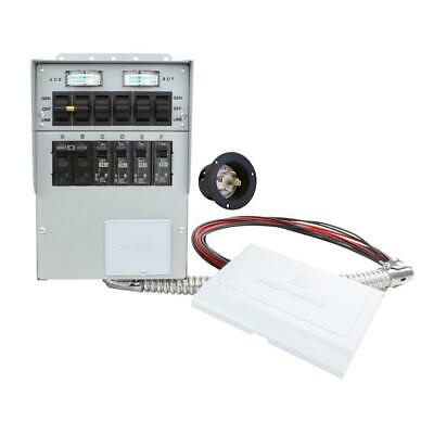 Reliance Controls 30 Amp 6-circuit Manual Transfer Switch