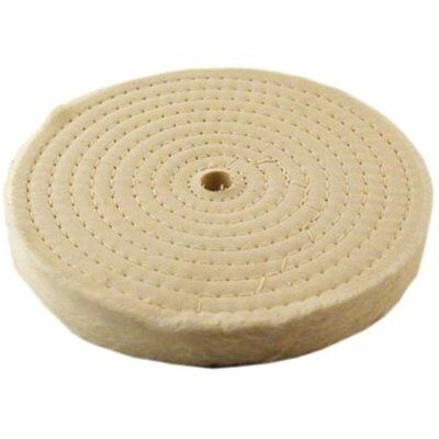 """Extra Thick Spiral Sewn Buffing Wheel, 8"""" (80 Ply) - Power Rotary Tool"""