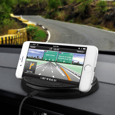 Car Wireless Charger Stand QI Charging Mount for Iphone X /8/8Benefit iPhone7 I6 I5