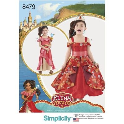 SEWING PATTERN! MAKE ELENA OF AVALOR COSTUME~DRESS! TWO STYLES! DISNEY PRINCESS